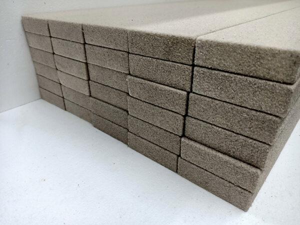 100x30x2400 flat polystyrene decorative mould for house fascia gold coast
