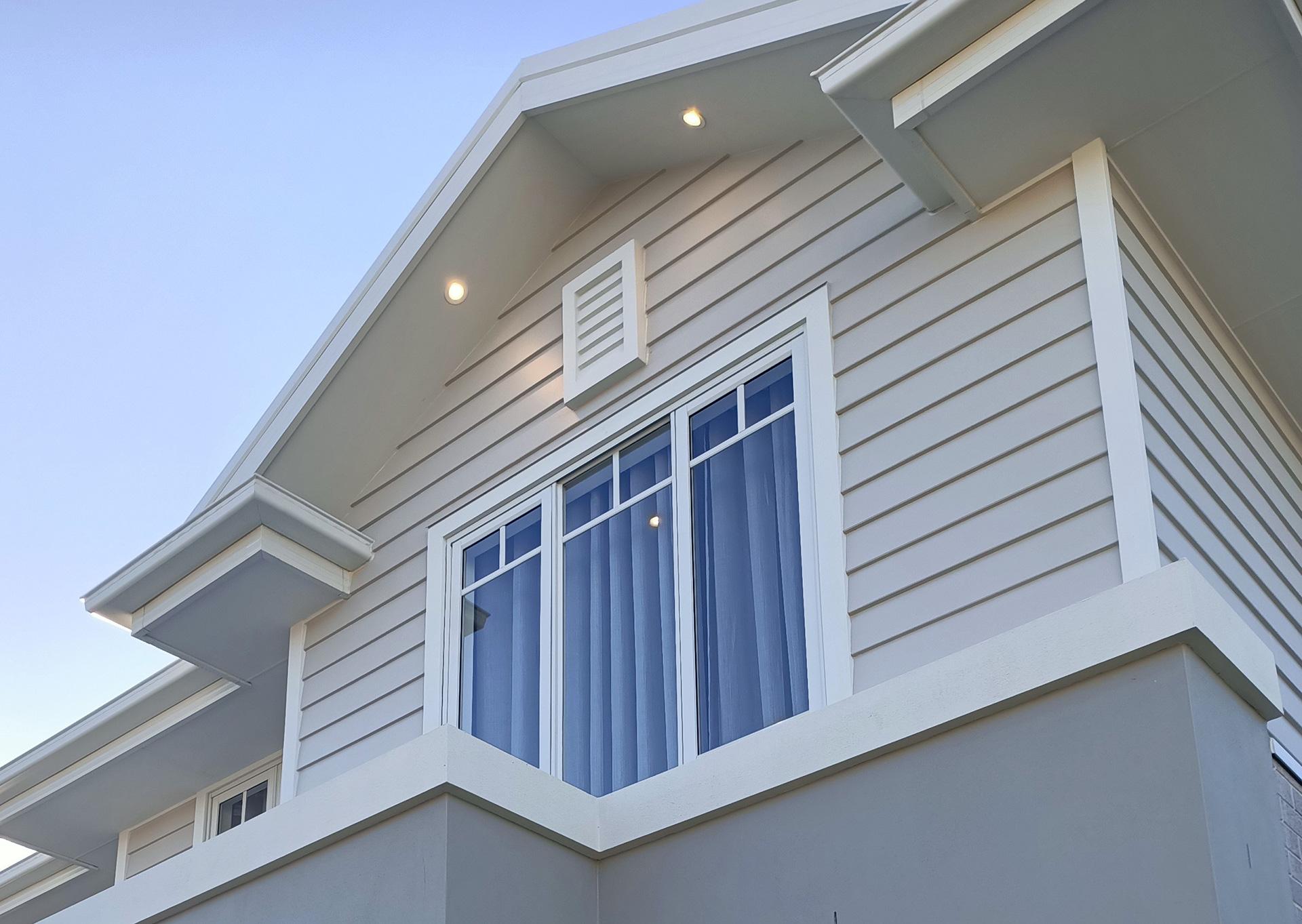 Hamptons style mock external vent gold coast Australia