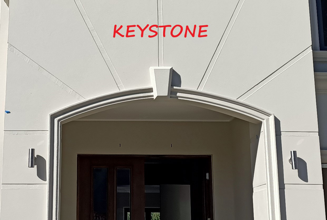 brickwork style keystone art deco facade gold coast Australia