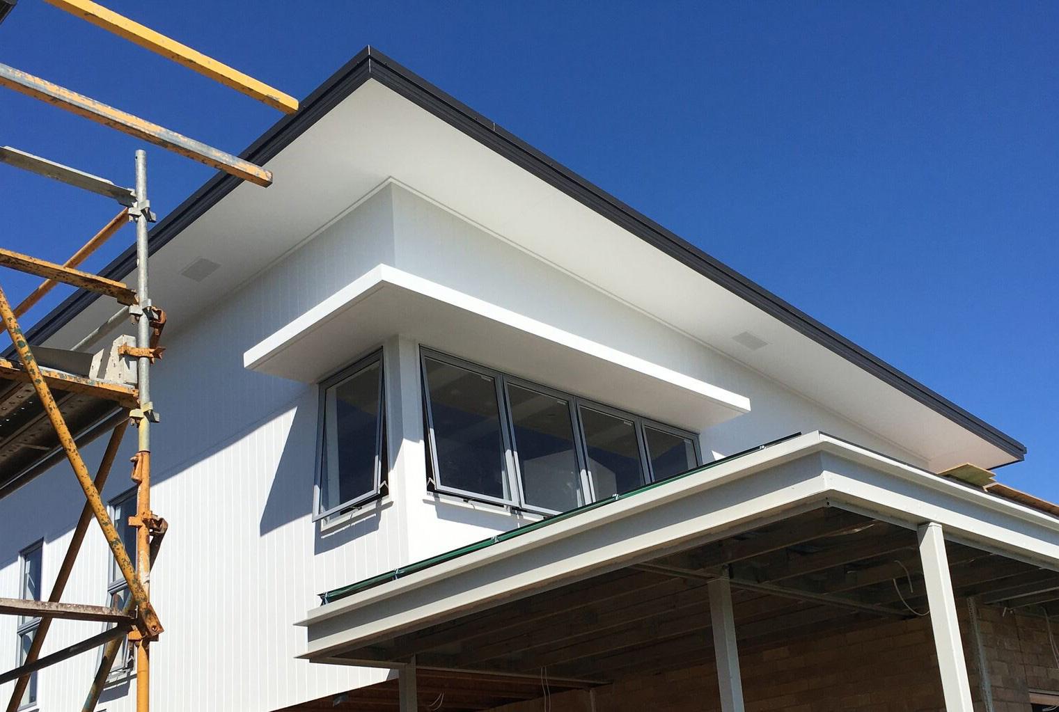 decorative feature building sunhoods for windows Gold Coast Australia