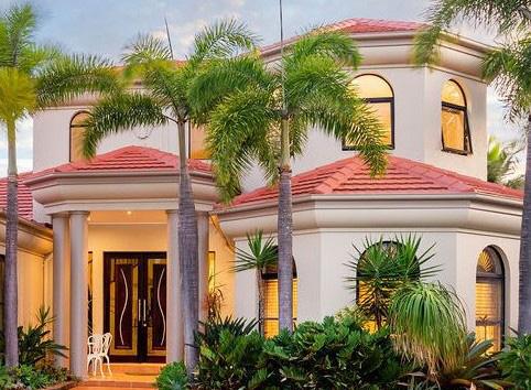 decorative styled polystyrene house soffits gold coast Australia