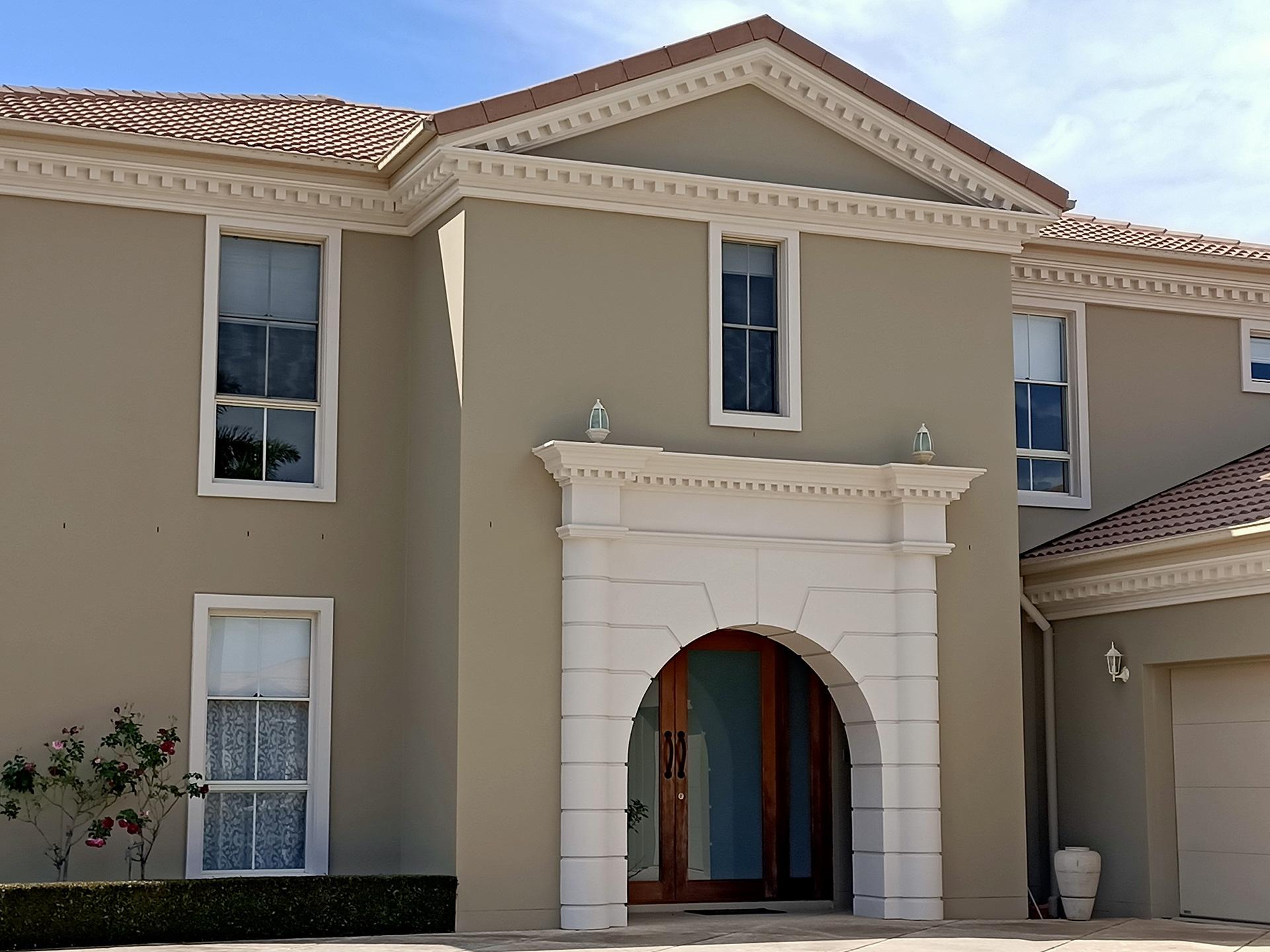 grand building entrance doorway facade gold coast Australia