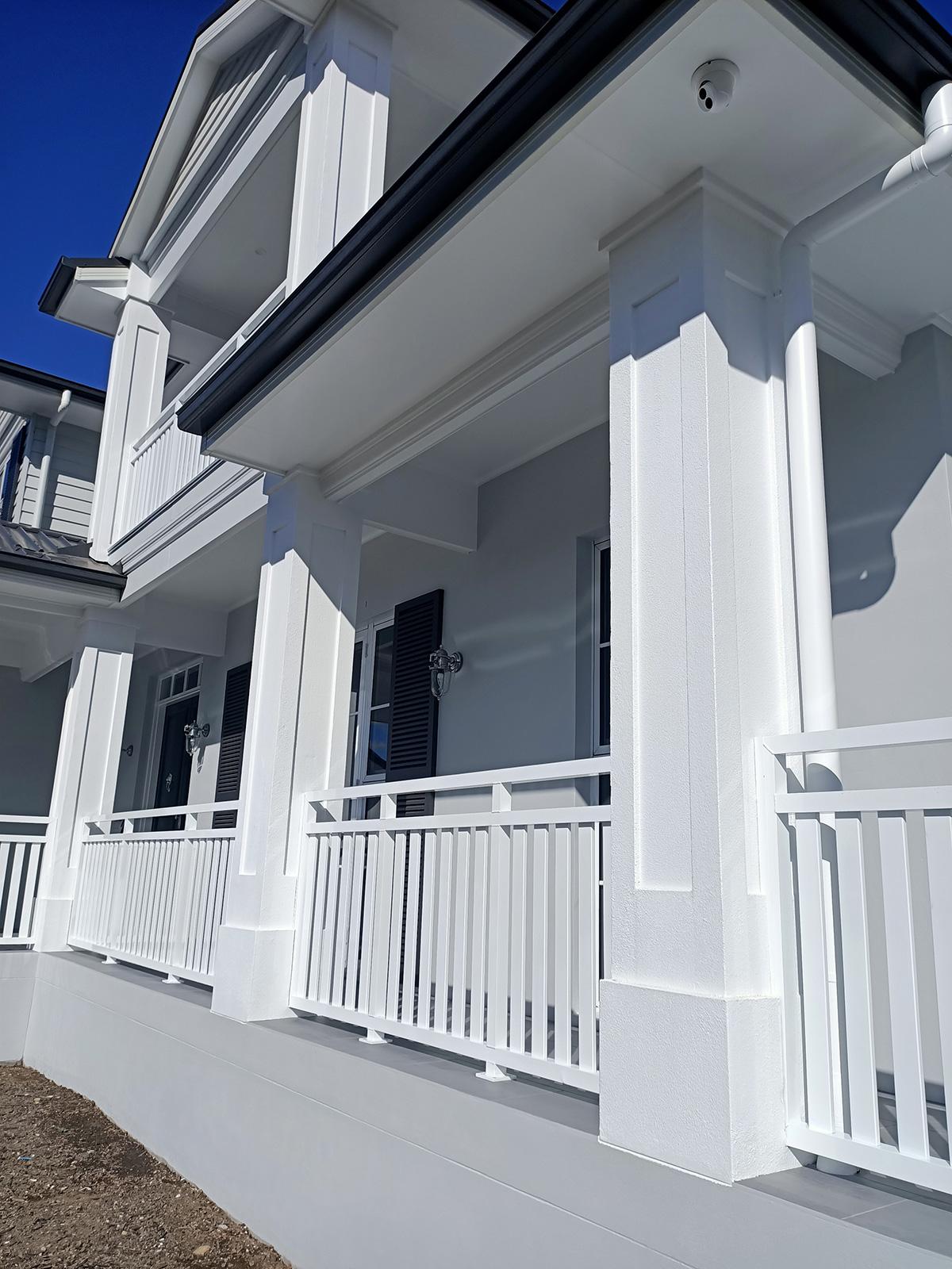 porch verandah columns capitals gold coast Australia