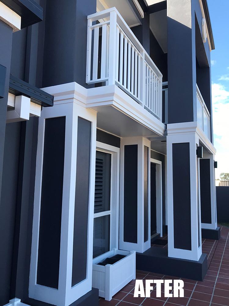 After building fascia transformation gold coast Australia