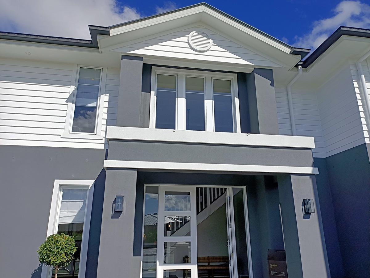Hamptons style fascia mouldings gold coast australia