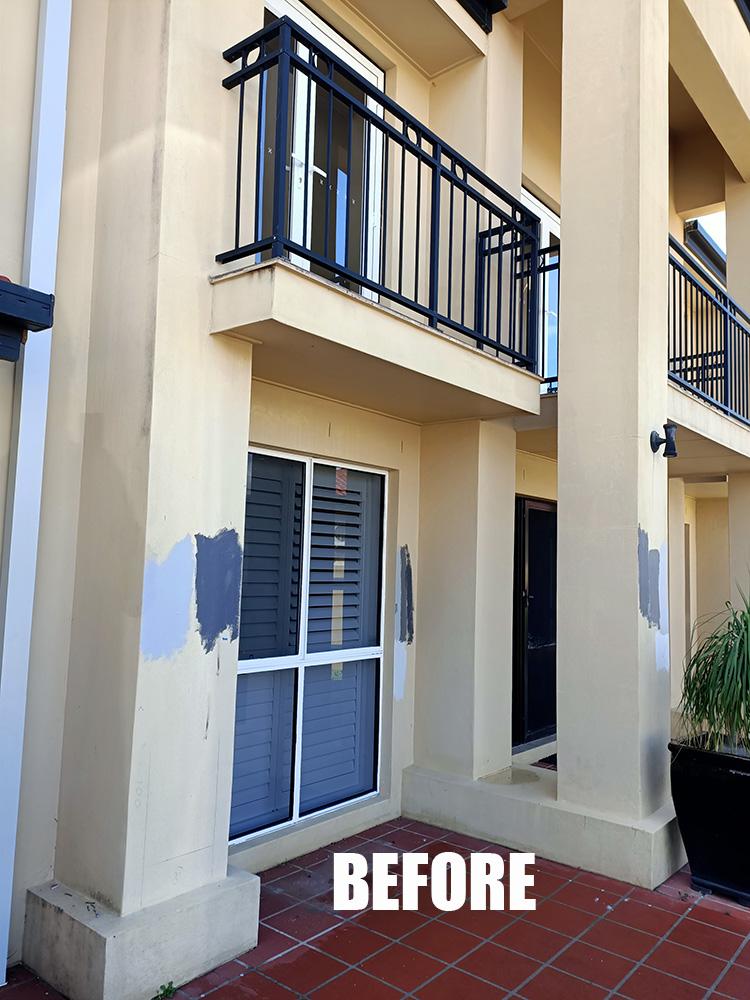 before building fascia transformation gold coast Australia
