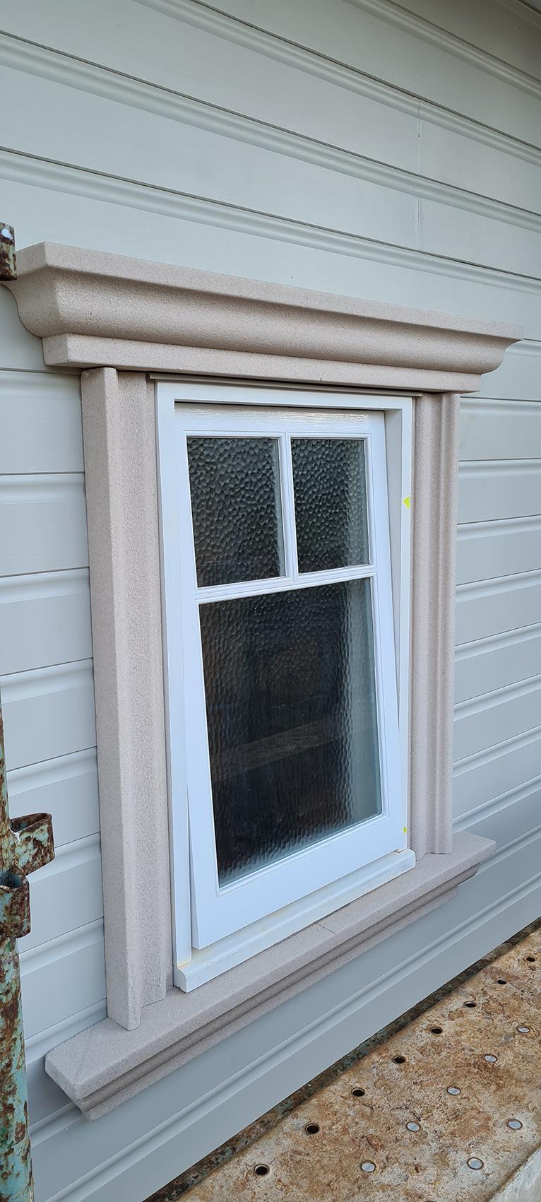 decorative period external window sil and surrounds Gold Coast Australia