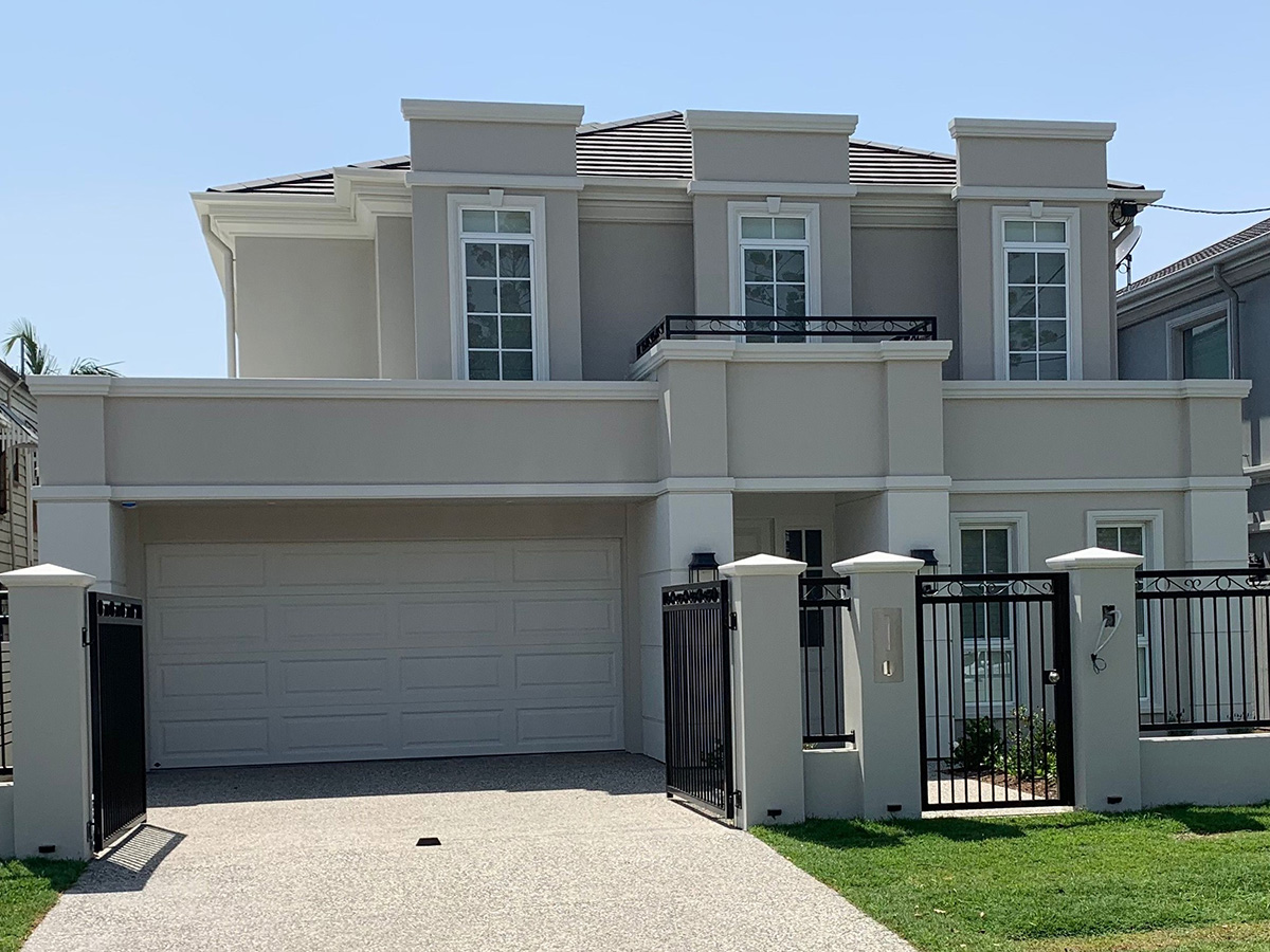 Classic Art Deco style external building features and ideas gold coast Australia