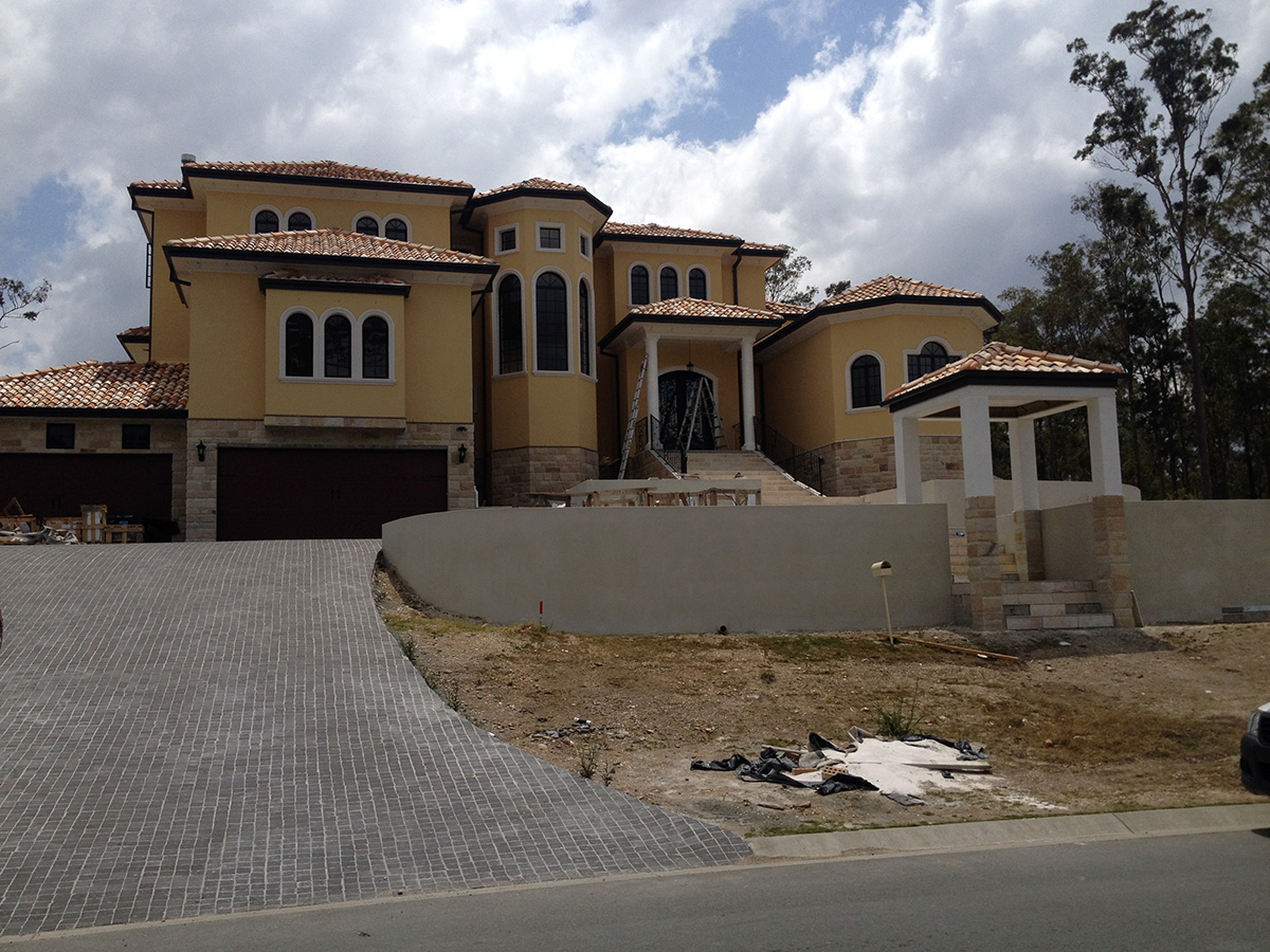 Classic mediterranean external building features and ideas gold coast