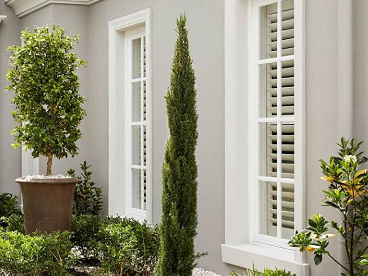 French Provincial style external window surrounds and sill gold coast