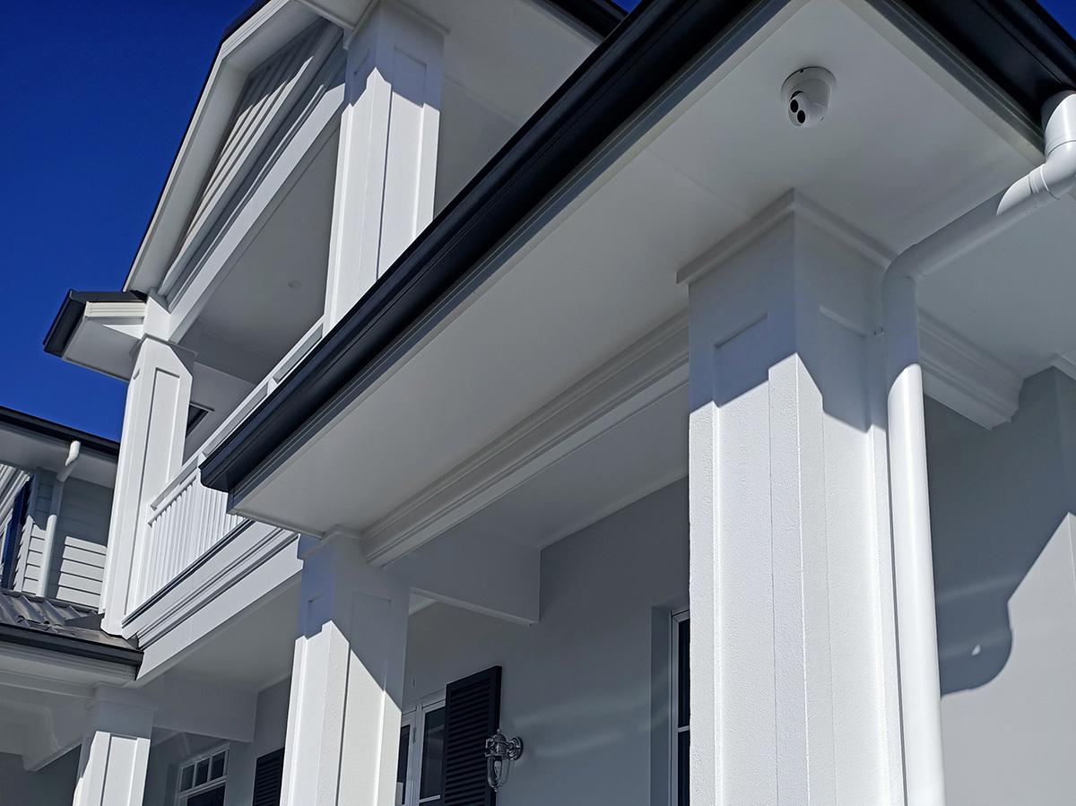 Hamptons style column features and surrounds gold coast Australia